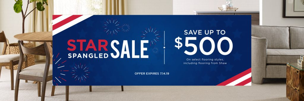 Star Spangled Sale | Floor Boys