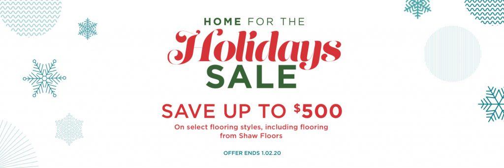 Home for the Holidays Sale | Floor Boys