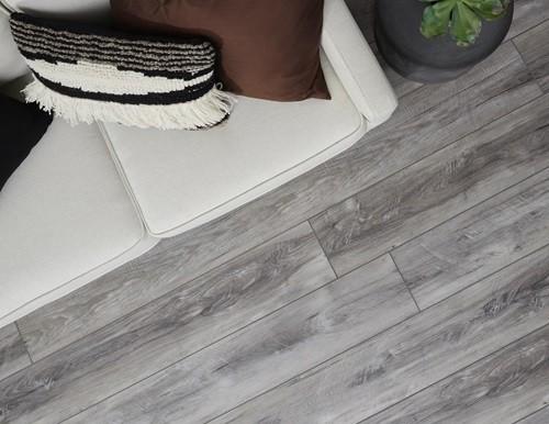 luxury vinyl tile in living room